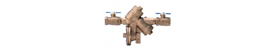 REDUCED PRESSURE BACKFLOW PREVENTERS